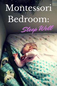 Montessori bedroom helps children sleep well. Find our more research and information at ChildLedLife.com