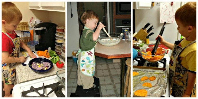 Montessori kitchen our children love to cook child led life for Our life in the kitchen