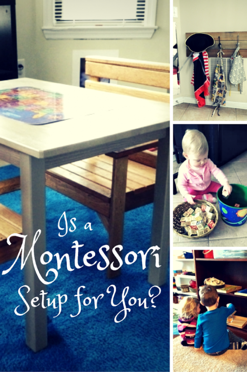 The Montessori Method can be a little overwhelming at first. Is a Montessori Setup for You? touches on a couple key questions about Montessori to see if you should consider the Montessori Method for your family at ChildLedLife.com