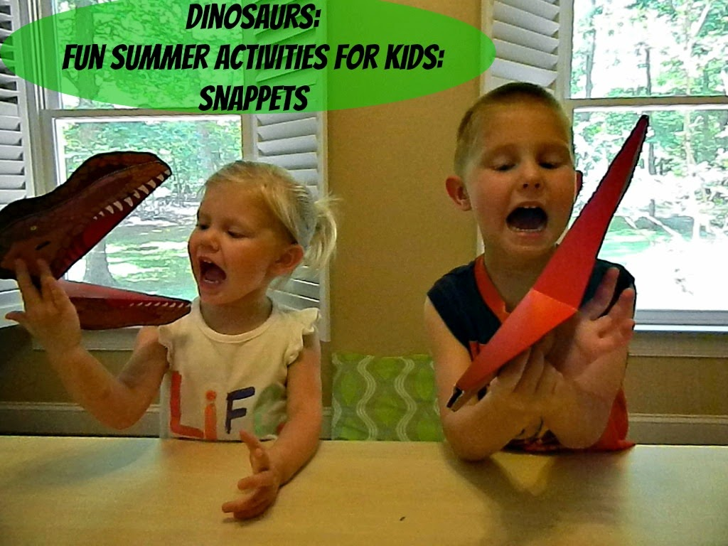 Dinosaurs: Fun Summer Activities for Kids: Snappets