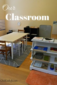 Our classroom at ChildLedLife.com