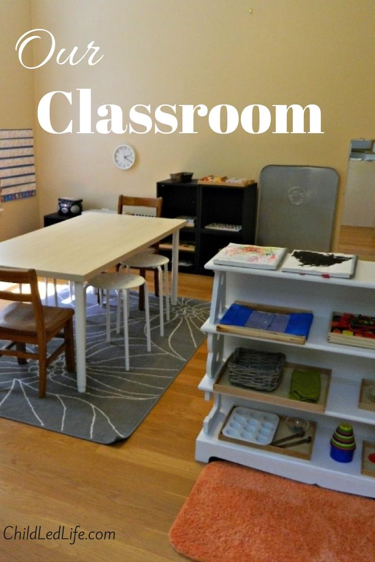 A tour of our classroom at ChildLedLife.com