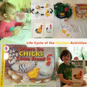 Chicken resources in our Preschool Chicken Activities post at ChildLedLife.com