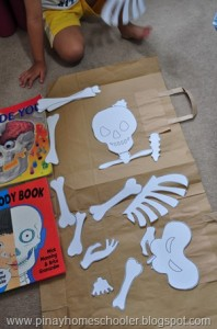 Pinay Homeschooler with a great resources for our Skeleton study on ChildLedLife.com