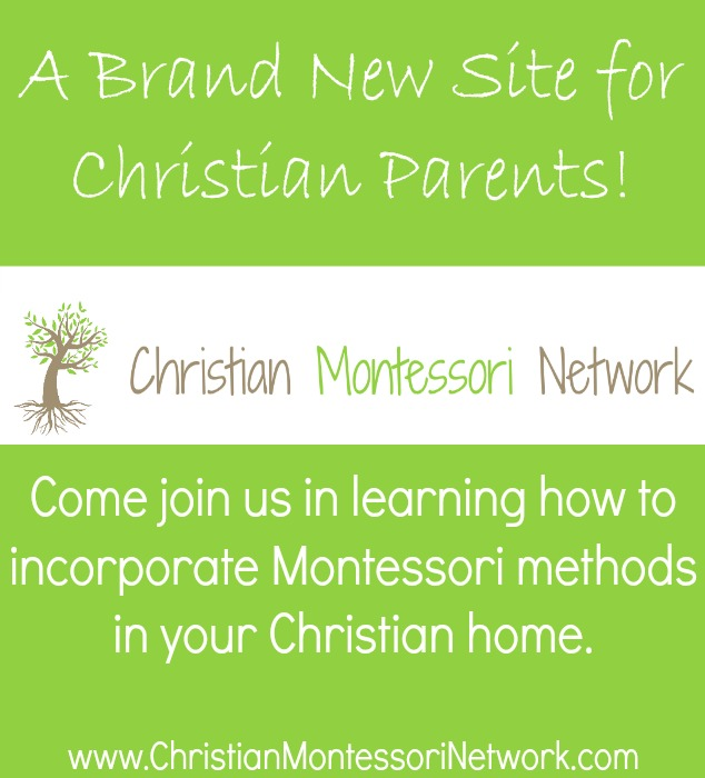 Marie blogs at Christian Montessori Network and ChildLedLife.com