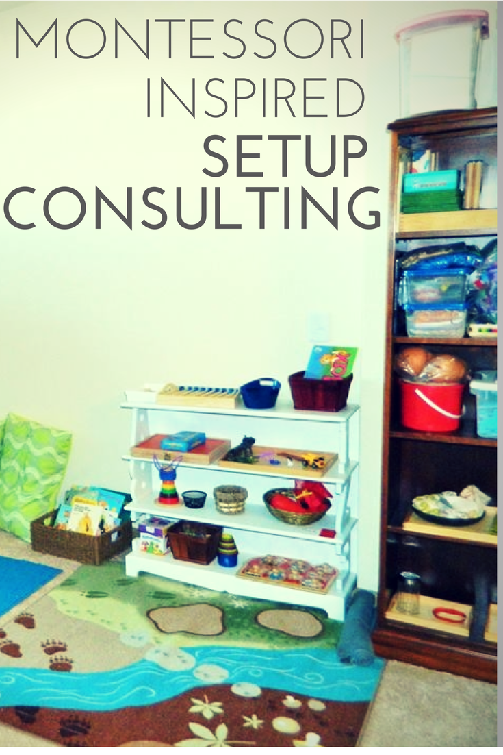Sometimes you just need a little help. Marie offers one on one consulting to anyone interested in a Montessori inspired home. Find more information at ChildLedLife.com
