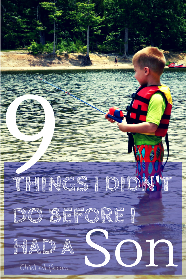 Having a son is a blast, but I find myself doing things I never thought I would! Find out more at ChildLedLife.com