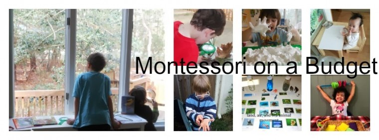 Child Led Life blog home on Montessori on a Budget