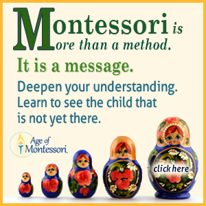Age of Montessori Sponsors on ChildLedLife.com