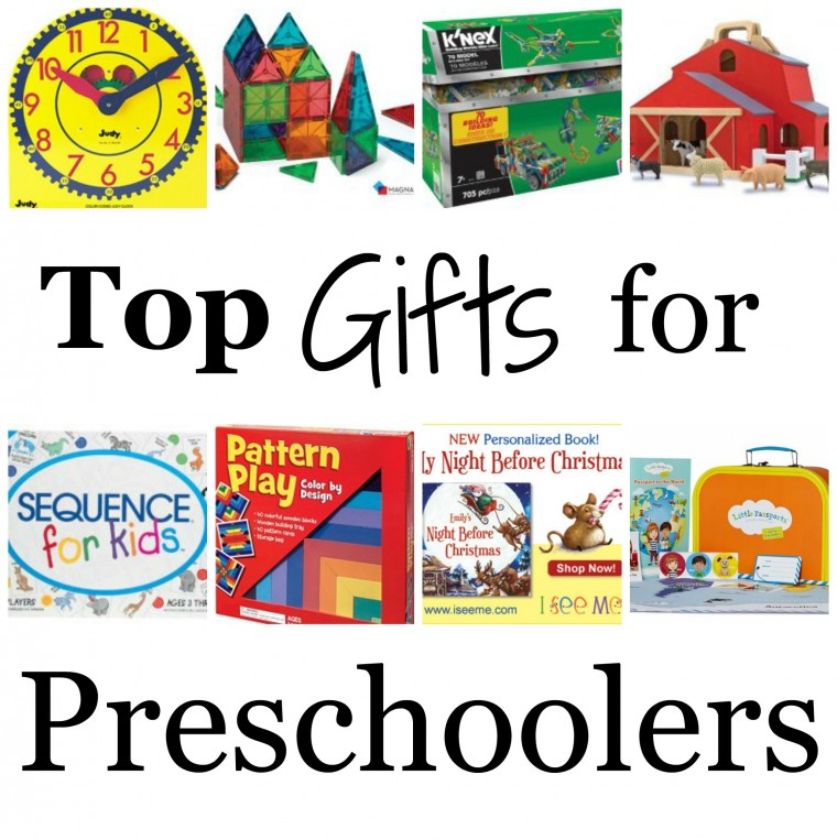 Are you starting your Christmas shopping? Here's Top Gifts for Preschoolers on ChildLedLife.com