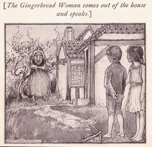 Gingerbread houses started to be popular around the time Hansel and Gretel was published. More great gingerbread history facts from PBS on ChildLedLife.com