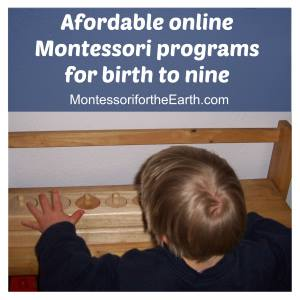 Affordable Online Montessori Programs shared on ChildLedLife.com