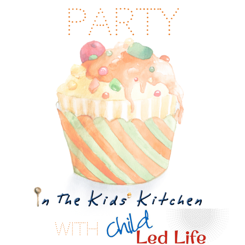 Party In The Kids' Kitchen Linky Party co-hosted with Jennifer of In The Kids' Kitchen and Marie of Child Led Life. Party link at ChildLedLife.com