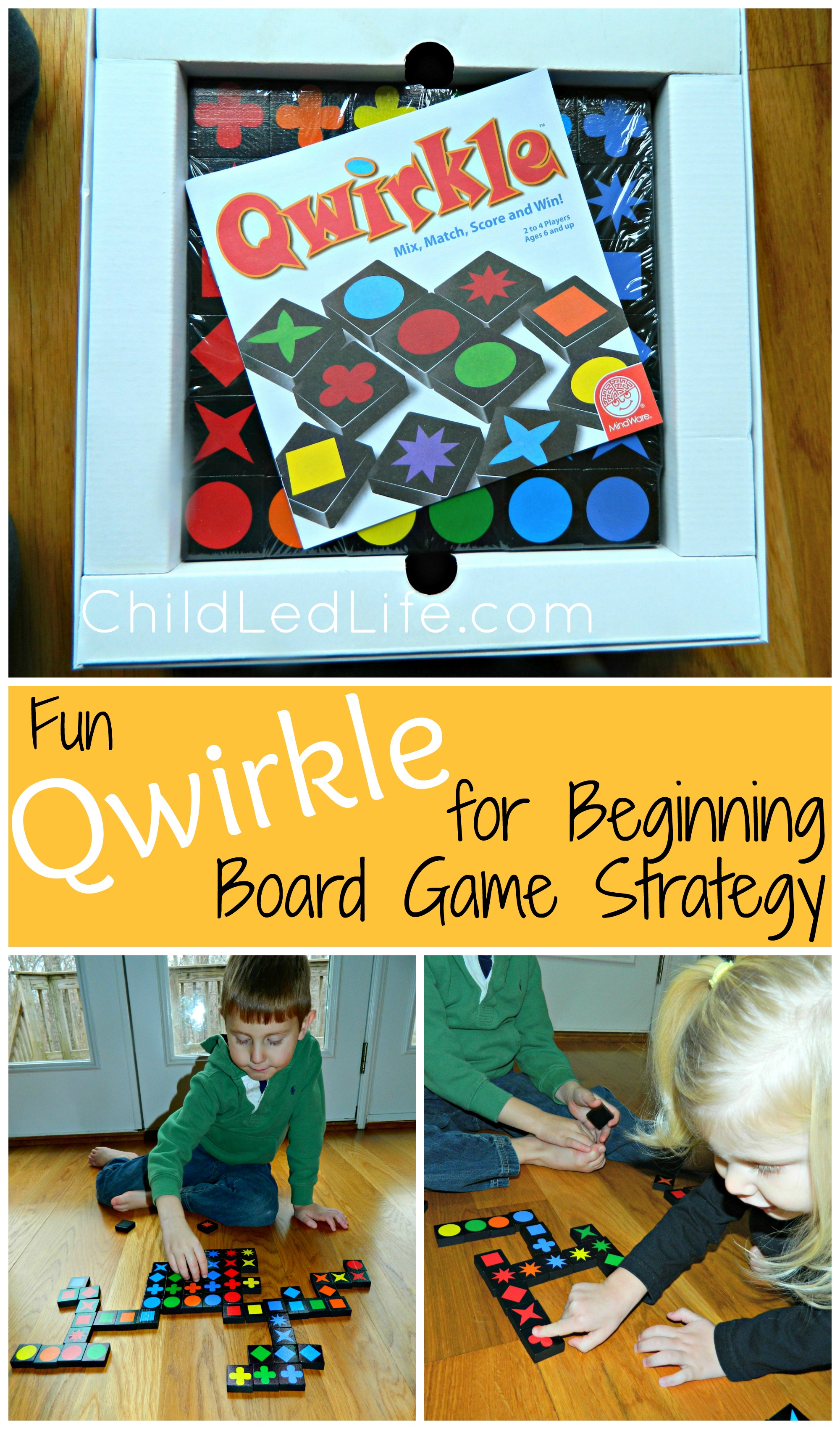 Beginning Board Game Strategy with Qwirkle