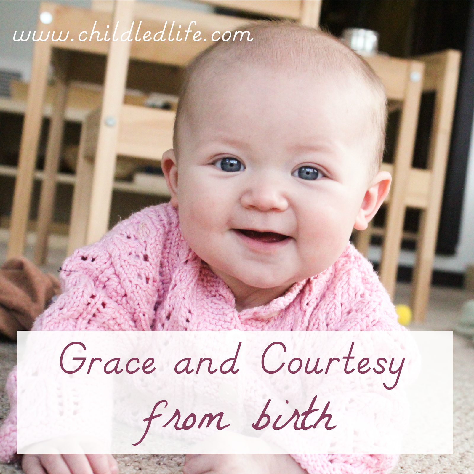 Grace and courtesy from birth with the use of sign language guest post from The Kavanaugh Report on ChildLedLife.com