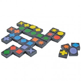Qwirkle is a fun beginning board game strategy game the whole family will love. Our kids are 2 and 4 years old and had a blast learning this colorful game at ChildLedLife.com