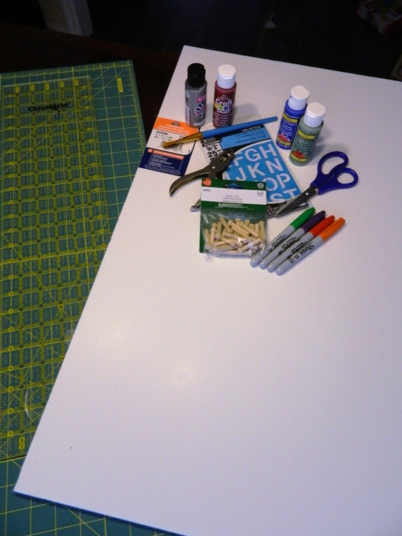 DIY early numbers math peg board game. So much cheaper then the Montessori specific game! On ChildLedLife.com