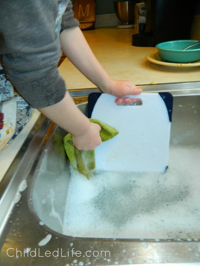 Montessori Washing Dishes Child Led Life