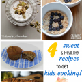 Kids can make dessert too! 4 healthy desserts kids can make and Party In The Kids' Kitchen Link Up on ChildLedLife.com