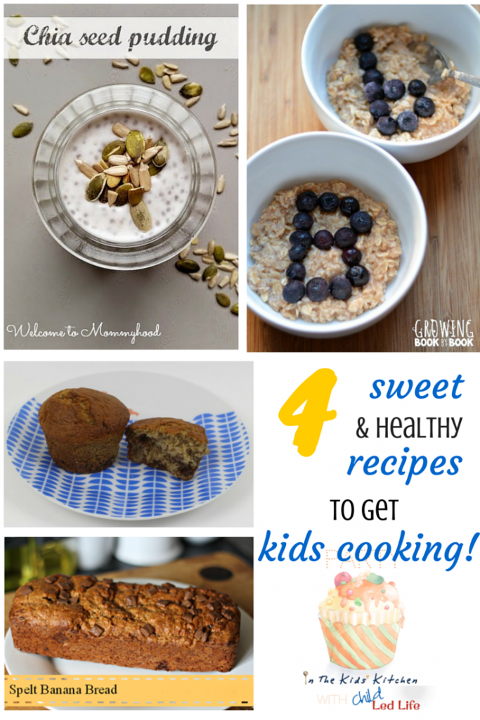 4 Healthy Desserts That Kids Can Make and Party In The Kids Kitchen