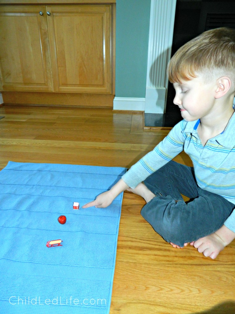 We love this beginning sounds work from Age of Montessori's Royal Road to Reading program. Find out more on how to give this lesson and my review of the program on ChildLedLife.com