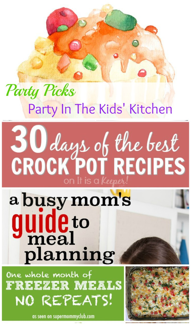 Featured posts on our Party In The Kids' Kitchen Link Up Feb 12th! Find more great posts on ChildLedLife.com