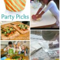 Party In The Kids' Kitchen Party Picks on ChildLedLife.com