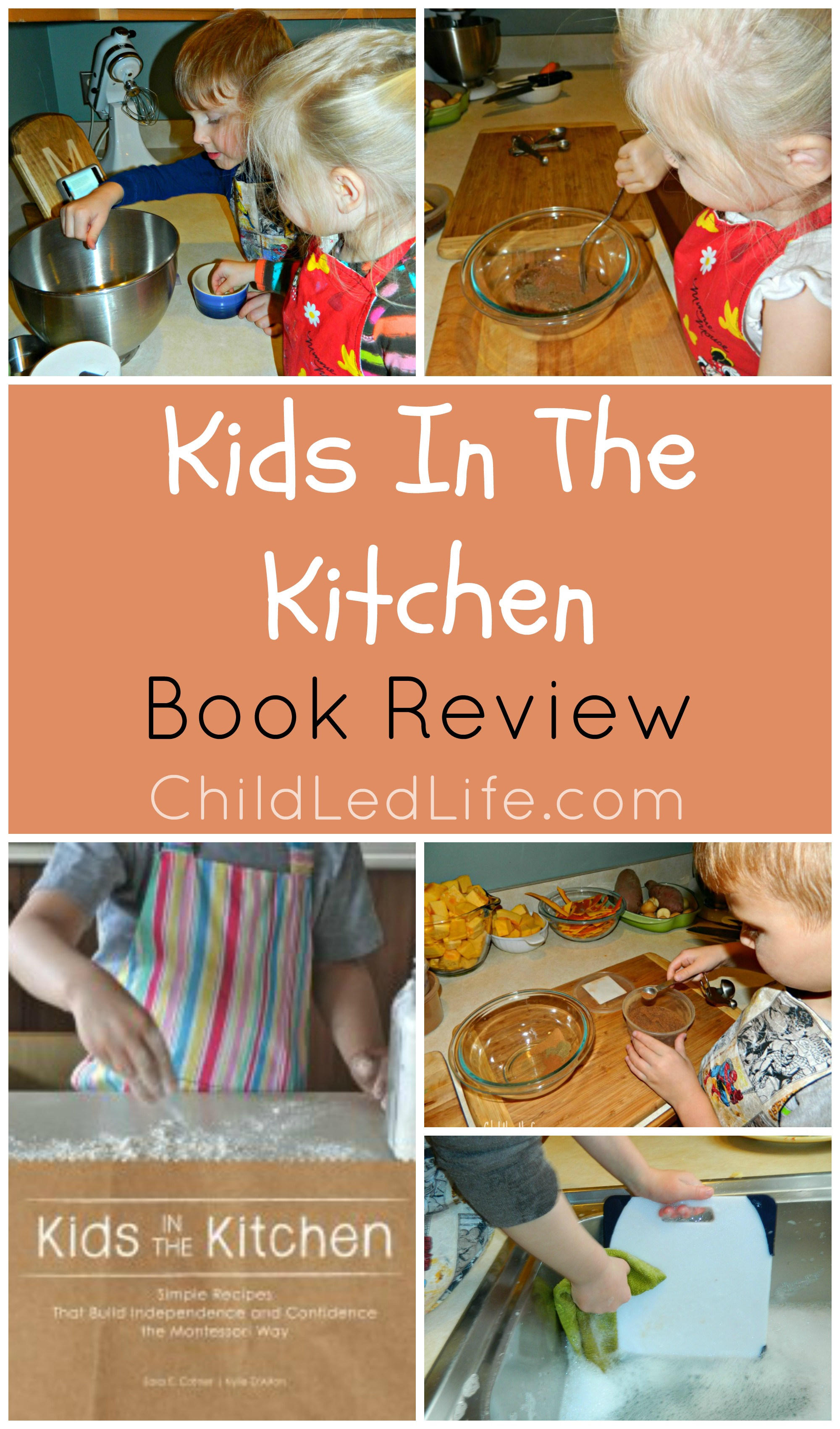 Kids In The Kitchen Book Review and Party In The Kids Kitchen Link Up
