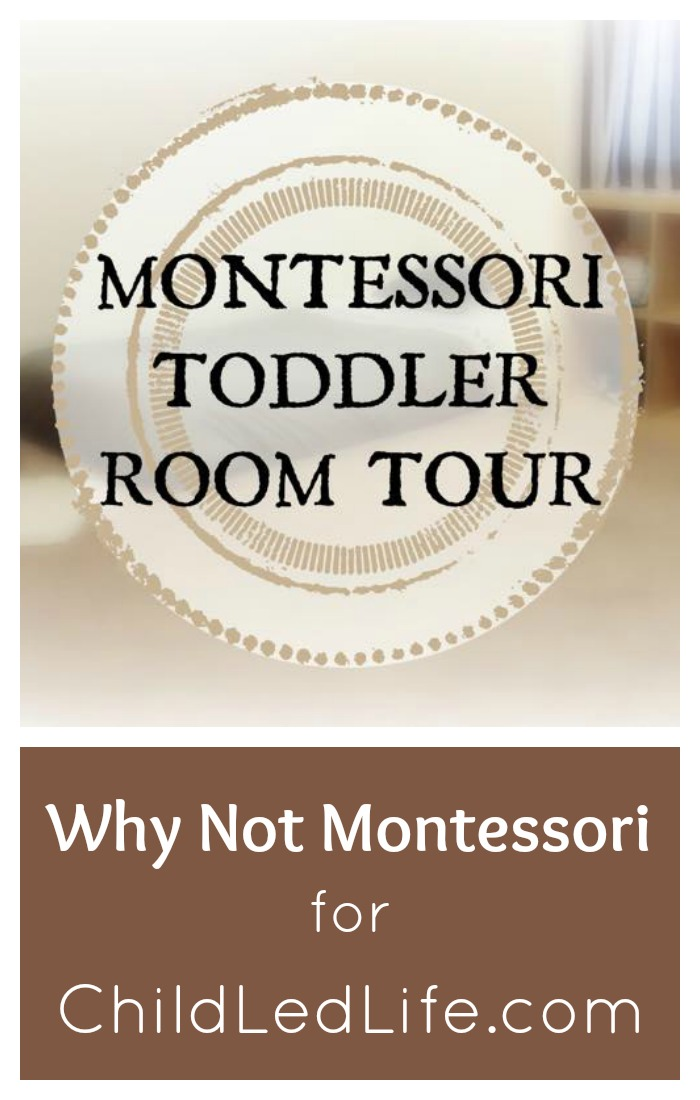 Montessori Bedroom Tour