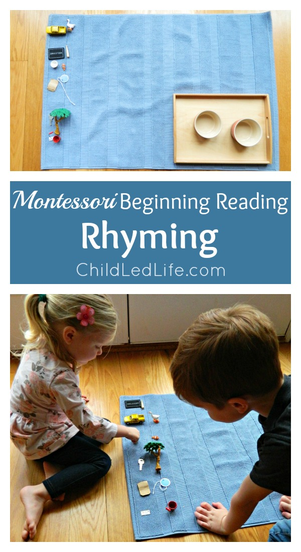 FUN LEARNING! Rhyming games help increase your child's phonemic awareness. Find out more on ChildLedLife.com