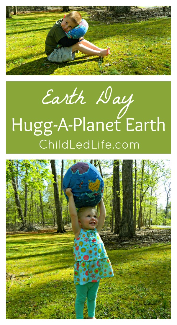 Earth Day with Hugg a Planet Earth