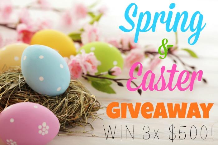 KBN Spring Giveaway! Enter to win $500 in cash. More on ChildLedLife.com
