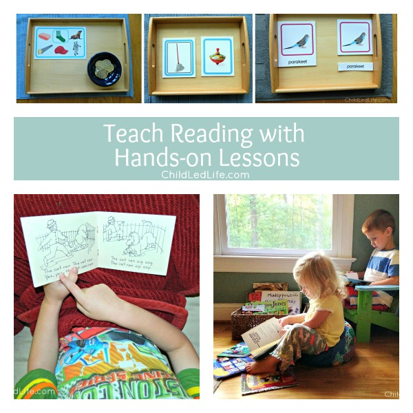 Teach Reading with Hands-on Lessons
