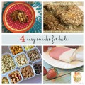 4 great links to easy kids snacks you'll want to have on hand this summer! More on ChildLedLife.com