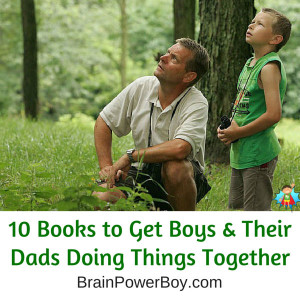 Best Father Son Activity Books shared on ChildLedLife.com