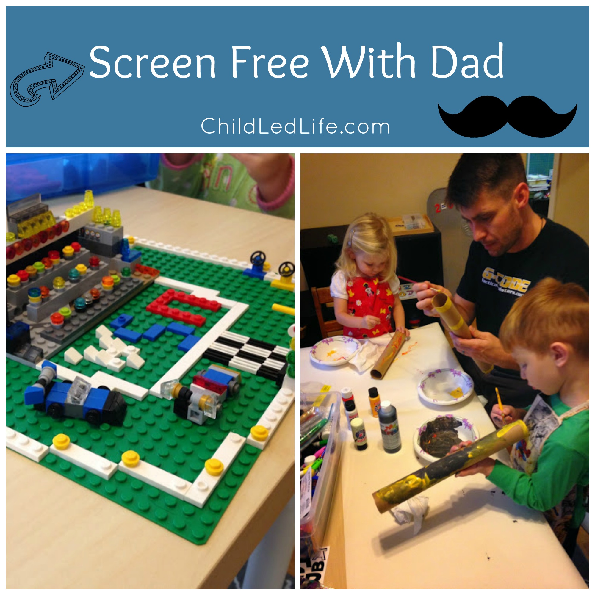Screen Free with Dad