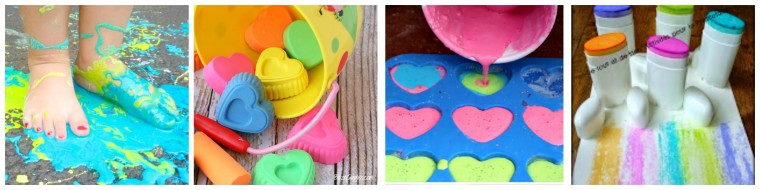 So excited to Welcome Summer! Here are some great ideas to use sidewalk chalk on ChildLedLife.com