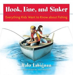 Hook, Line, and Sinker book for fish unit on ChildLedLife.com