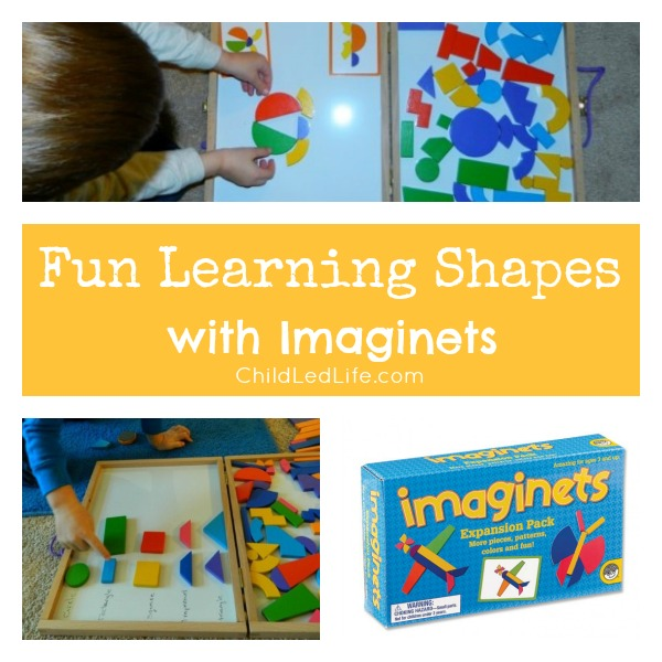 Fun Learning Shapes with Imaginets