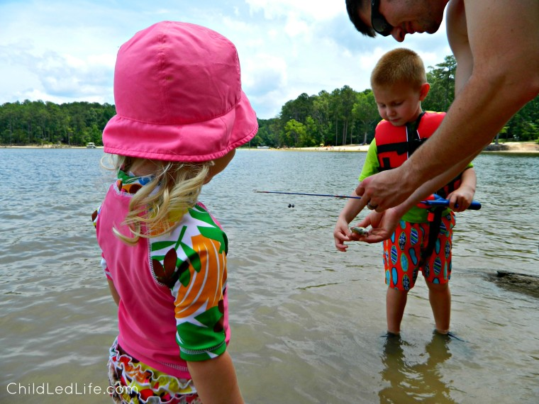 Hands on Learning! Go Fishing with the Montessori Inspried Zoology Fish Unit on ChildLedLife.com