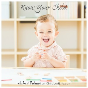 Parenting is tough! Make it a little easier by knowing your child with education about child development, Montessori method, and Montessori home setup on ChildLedLife.com