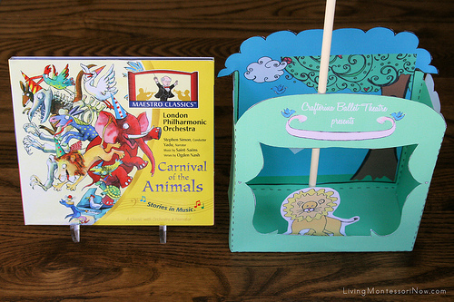 Carnival of Animals looks like a lot of fun! Glad to have all the music resources on ChildLedLife.com