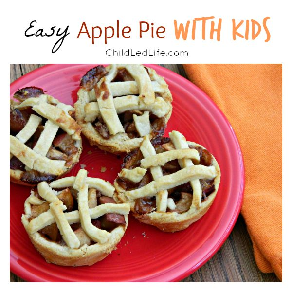 Easy Apple Pie with Kids