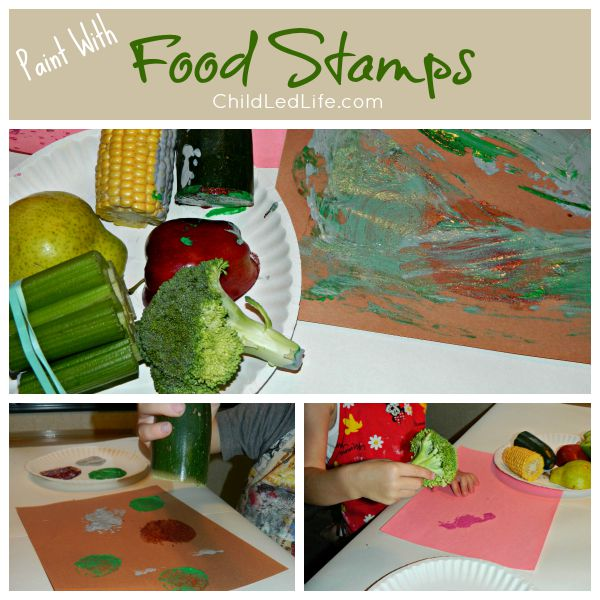 Paint with Food Stamps