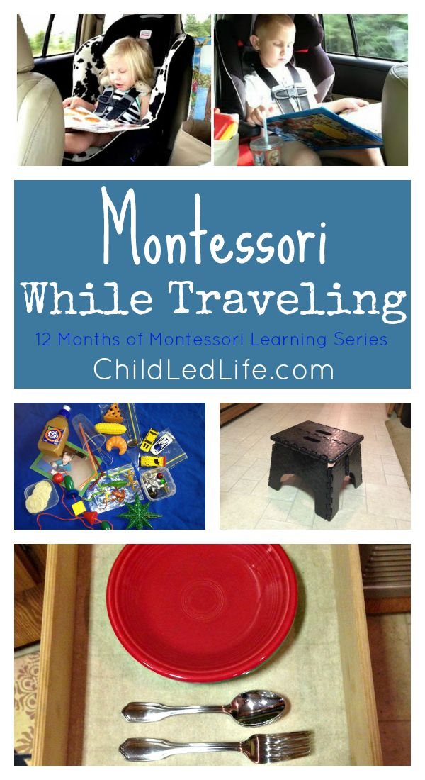I'm going to use these next time we go on a trip! We love Montessori!