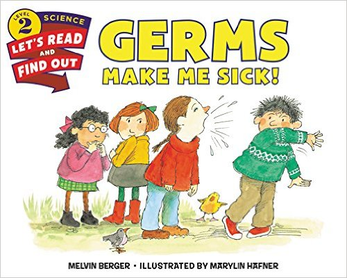 Germs Make Me Sick! one of the best books for learning about the body in the 12 Months of Montessori Learning Series on ChildLedLife.com