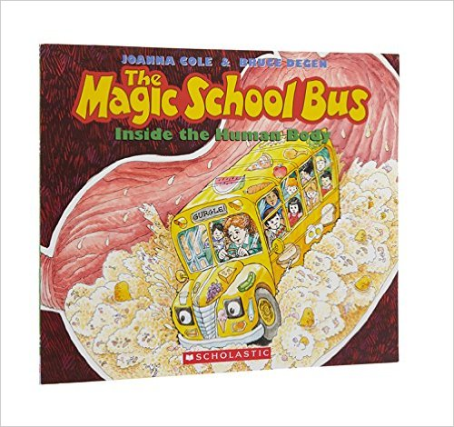 The Magic School Bus Inside the Body one of the best books for learning about the body in the 12 Months of Montessori Learning Series on ChildLedLife.com