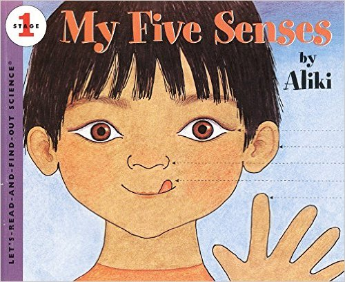 My Five Senses one of the best books for learning about the body in the 12 Months of Montessori Learning Series on ChildLedLife.com